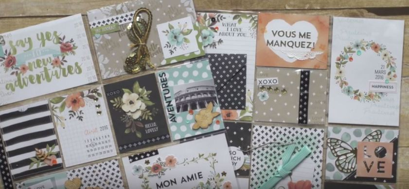 hello lovely mail art, Stampin Up, hello lovely project life, #creativeleeyours