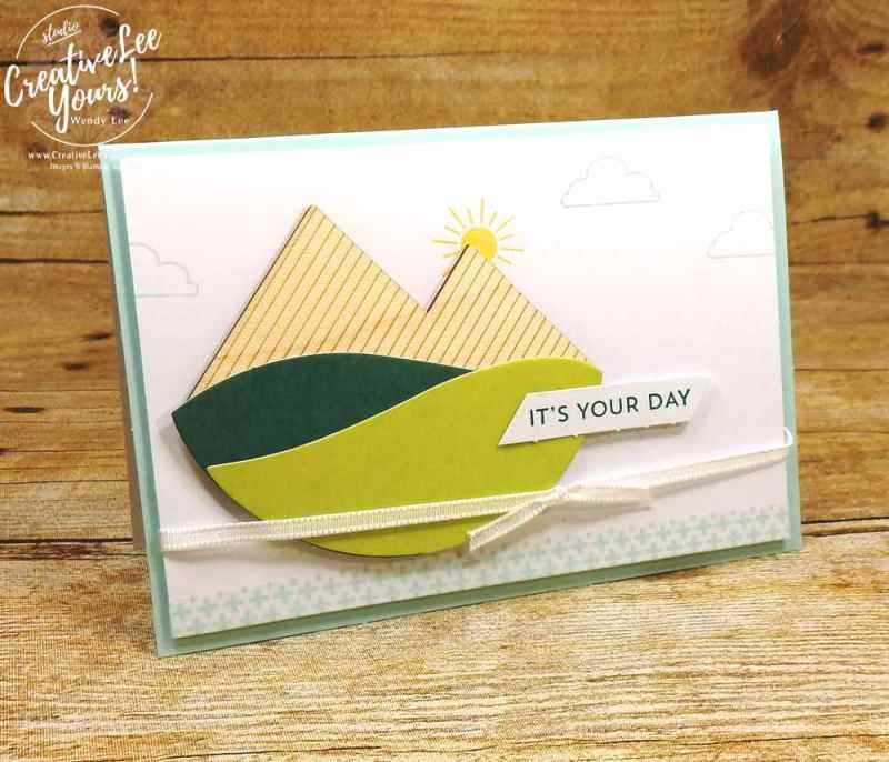 July 2017 Positively picturesque Paper Pumpkin Kit by wendy lee, stampin up, handmade cards, rubber stamps, stamping, kit, subscription