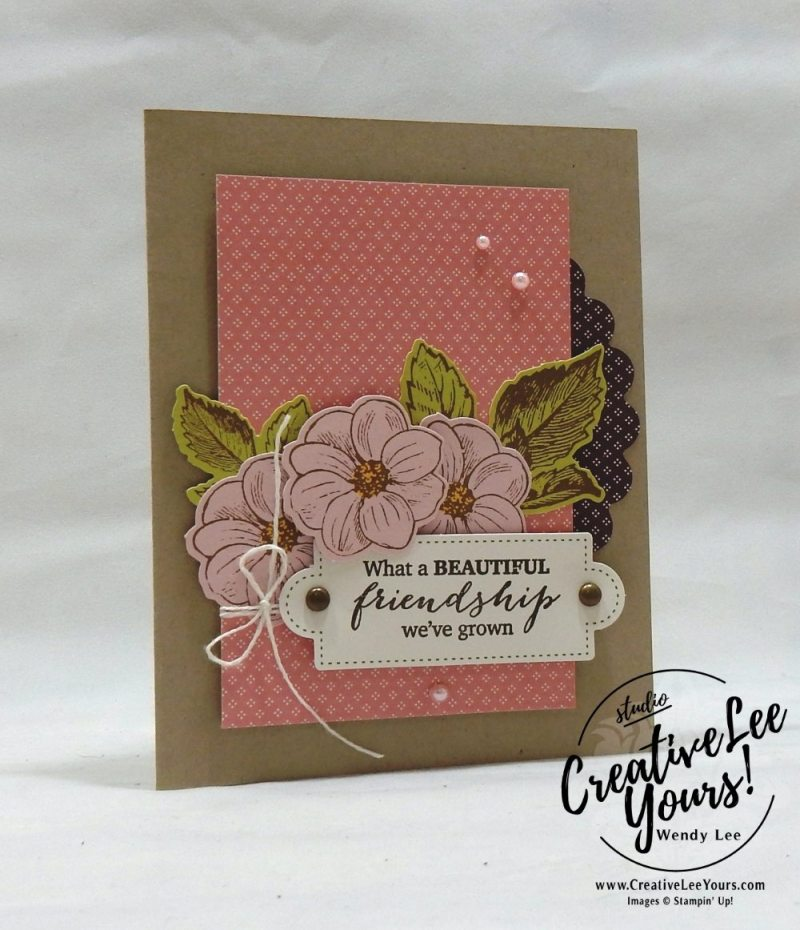 March 2018 May Good Things Grow Paper Pumpkin Kit by wendy lee, stampin up, handmade cards, rubber stamps, stamping, kit, subscription, floral,spring cards, vintage, beautiful,thank you, congrats, friend, #creativeleeyours,creatively yours,creative-lee yours,SU, SU cards
