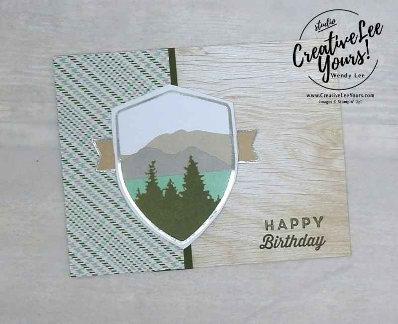 May 2018 Manly Moments Paper Pumpkin Kit by wendy lee, stampin up, handmade cards, rubber stamps, stamping, kit, subscription, birthday, thank you, congrats, friend, #creativeleeyours, creatively yours, creative-lee yours, SU, SU cards, alternate, alternate, landscape, masculine, alternate