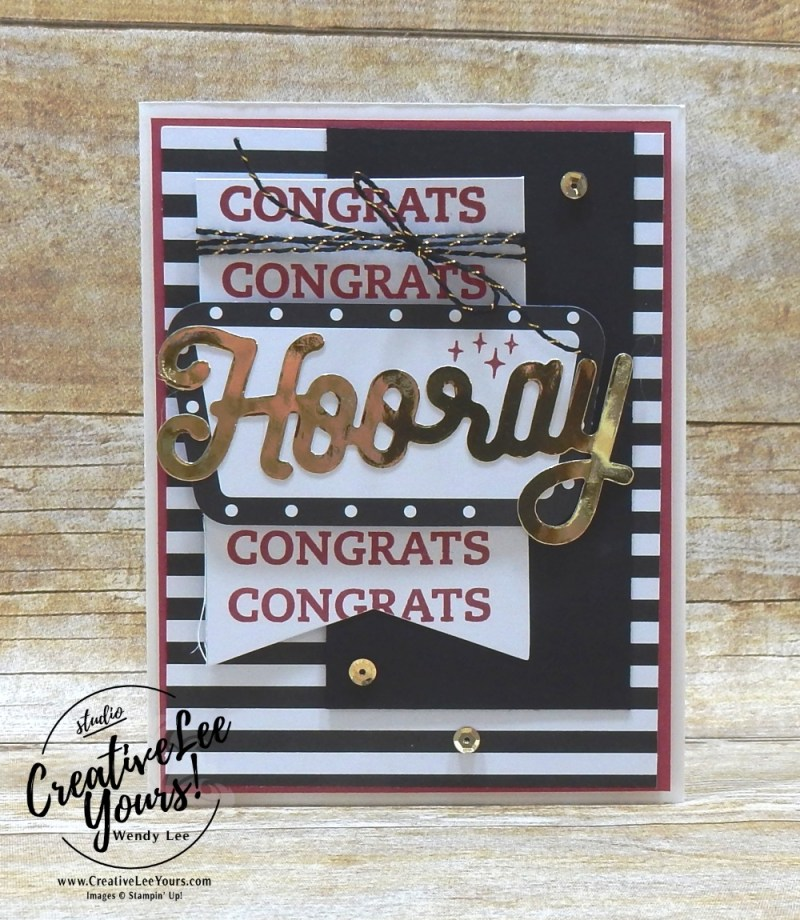 June 2018 Broadway Star Paper Pumpkin Kit by wendy lee, stampin up, handmade cards, rubber stamps, stamping, kit, subscription, birthday, thank you, congrats, friend, #creativeleeyours, creatively yours, creative-lee yours, SU, SU cards, alternate, masculine