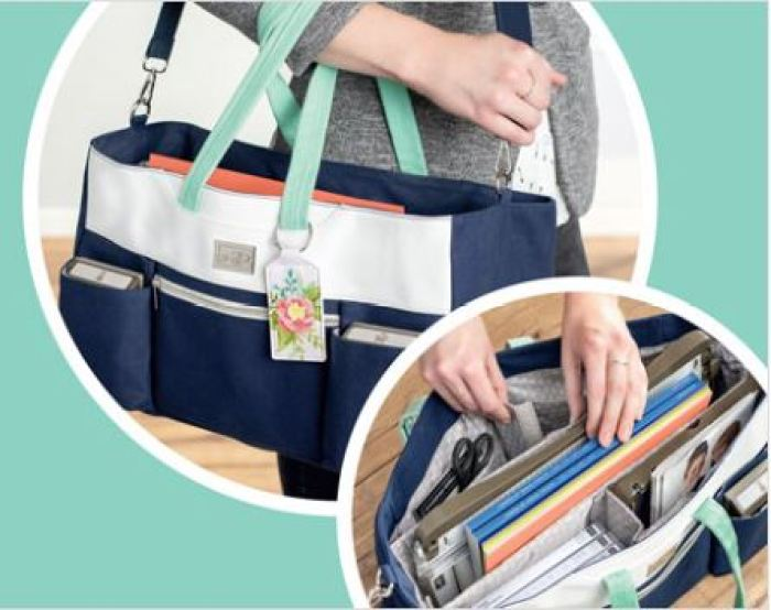 Craft & Carry Tote with wendy lee, stampin up, SU, #creativeleeyours, creative-lee yours, creatively yours, stamping, carry bag,Diemonds team, business opportunity, DIY, fellowship, earn extra money, storage solution