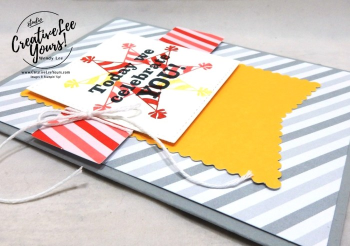 March 2019 Poppin' Birthday Paper Pumpkin Kit, Celebrate You by wendy lee, stampin up, handmade cards, rubber stamps, stamping, kit, subscription, #creativeleeyours, creatively yours, creative-lee yours, birthday, bonus tutorial, fast & easy, DIY, #simplestamping, SU, paper crafting, masculine, party