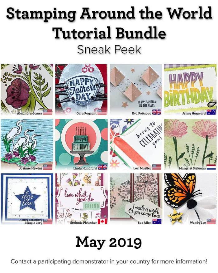 Stamping Around the World Tutorial Bundle, Guest Designer, wendy lee, class, cards, exclusive, #creativeleeyours, creativelee-yours, creatively yours, pattern paper, rubber stamps, Stampin Up, hand made cards, technique, fun fold