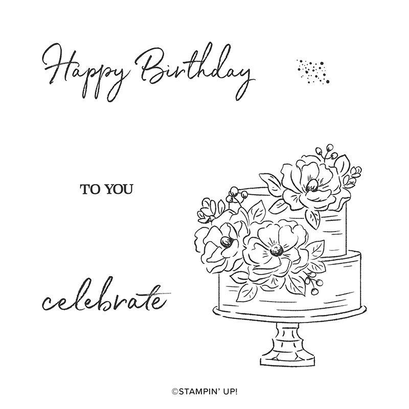 Wendy Lee, stampin Up, SU, #creativeleeyours, handmade card, Happy Birthday to you stamp set, , bake, birthday, friend, celebration, stamping, creatively yours, creative-lee yours, DIY, paper crafts, #SAB, #saleabration,  video