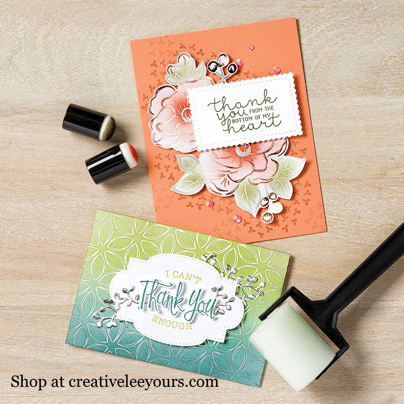 Wendy Lee, stampin Up, SU, #creativeleeyours, handmade card, flowering foils designer series paper, friend, celebration, congratulation, thank you, flowers, rose gold foil, silver foil, stamping, creatively yours, creative-lee yours, DIY, paper crafts, #SAB, #saleabration, video, #patternpaper