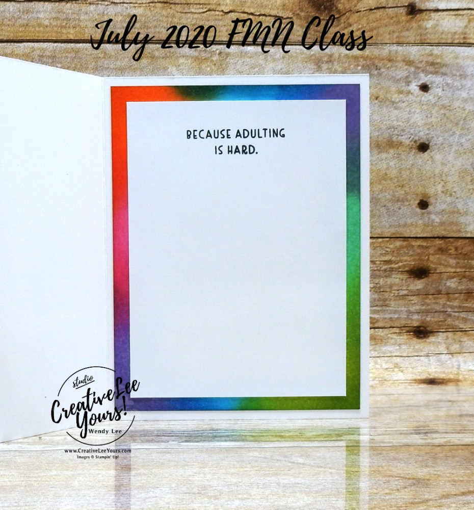 Color Blocked Emboss Resist by wendy lee, stampin up, stamping, SU, #creativeleeyours, creatively yours, creative-lee yours, #cardmaking #handmadecard #rubberstamps #stamping, friend, celebration, congratulations, thank you, hello, birthday, stamping, DIY, paper crafts, #papercrafting , #papercraftingsupplies, #papercraftingisfun , tutorial, FMN, forget me not, card club, class, nothing's better than stamp set, #makeacardsendacard ,#makeacardchangealife, emboss resist, color block, sponging, ,#tutorial ,#tutorials ,#technique ,#techniques, cocktails