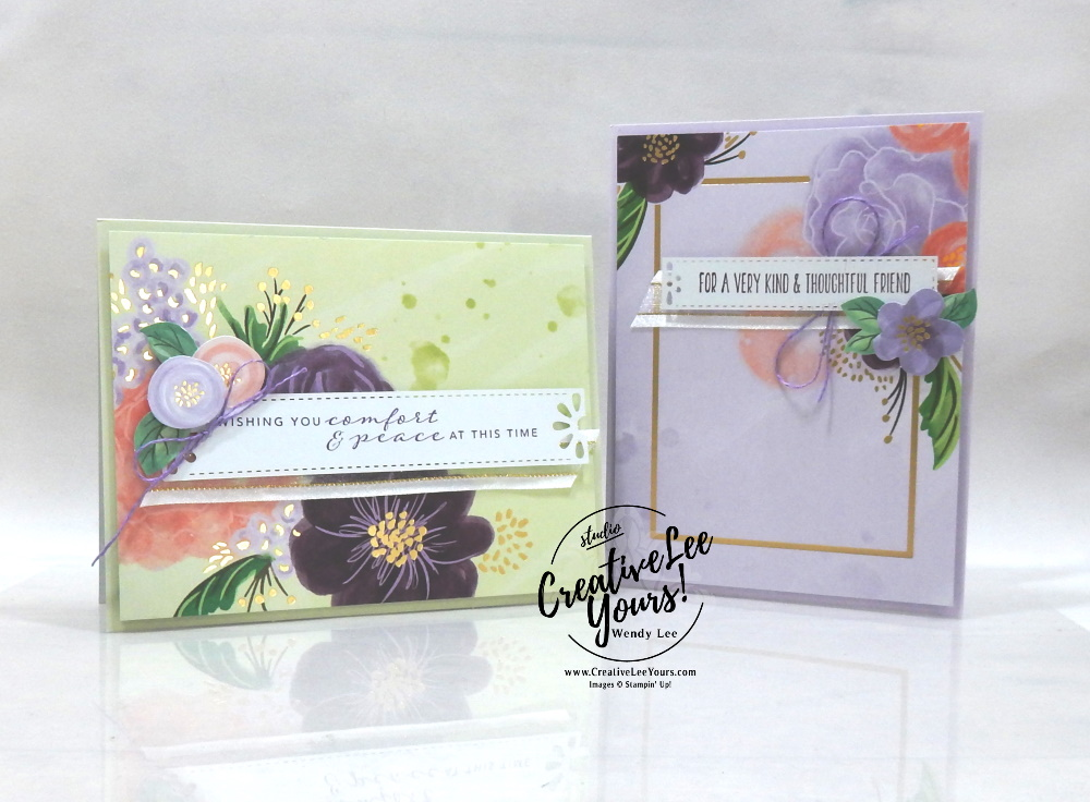 Get Well Soon by Wendy Lee, stampin Up, SU, #creativeleeyours, handmade card, gorgeous posies stamp set, get well, friend, celebration, thank you, stamping, creatively yours, creative-lee yours, DIY, birthday, #simplestamping, papercrafts, #makeacardsendacard ,#makeacardchangealife , rubberstamps, #stampinupdemonstrator , #cardmaking, #papercrafts , #papercraft , #papercrafting , #papercraftingsupplies, #papercraftingisfun, #kit, #craftkit, #craftkits, #papercraftingkit, #gorgeousposieskit, video, facebook live
