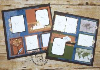 A Beautiful World Scrapbook Pages by wendy lee, Stampin Up, #creativeleeyours, creatively yours, #stampinupdemonstrator ,#scrapbooking, #mmorykeeping, #rubberstamps, #stamping, SU, SUO, creative-lee yours, #DIY, #papercrafts , #papercraft , #papercrafting , fellowship, friend, birthday, celebration, beautiful world stamp set, ,#onlinecardclasses#blueridgestampinescape, #papercraftingsupplies, #papercraftingisfun, masculine, memories and more, world of good, travel