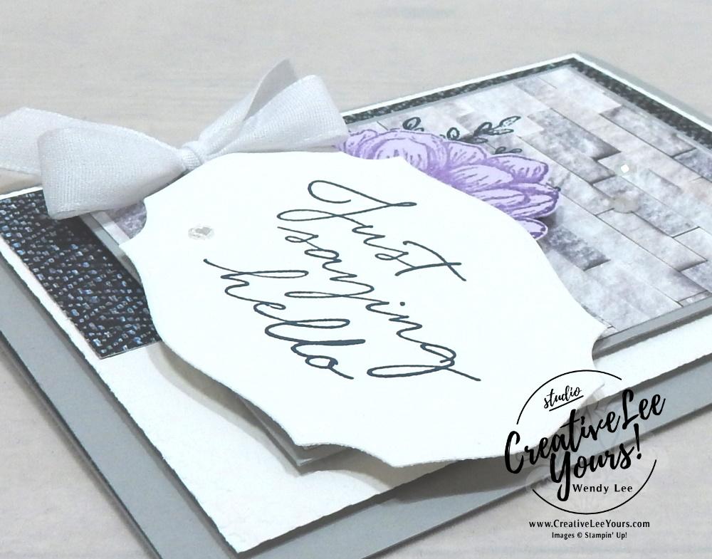 Textured hello, All star tutorial bundle, #wendylee , #creativeleeyours , #stampinup , #su , #stampinupdemonstrator , #cardmaking, #handmadecard, #rubberstamps, #stamping, #cardclass, # cardclasses ,#onlinecardclasse,#tutorial ,#tutorials #DIY, #papercrafts , #papercraft , #papercrafting , #papercraftingsupplies, #papercraftingisfun, #papercraftingideas, #makeacardsendacard ,#makeacardchangealife, #subscription, August 2020, In Good Taste Suite