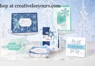 Snowflake Splendor suite, Stampin' Up! Video with wendy lee, Snowflake Wishes stamp set, So Many Snowflakes Dies, Stampin Up, #creativeleeyours, creatively yours, #stampinupdemonstrator ,#cardmaking #handmadecard #rubberstamps #stamping, SU, SUO, creative-lee yours, #DIY, #papercrafts , #papercraft , #papercrafting , fellowship, video, friend, birthday, celebration, snowflakes, hello, thank you, Christmas, holidays, #makeacardsendacard ,#makeacardchangealife, #papercraftingsupplies, #papercraftingisfun, packaging