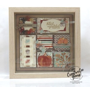 Beautiful Autumn home decor by wendy lee, stampin up, stamping, SU, #creativeleeyours, creatively yours, creative-lee yours, ,#tutorial ,#tutorials ,#rubberstamps #stamping, friend, celebration, framed art, sampler, holiday, fall, winter, thank you, hello, birthday, autumn, fall, stamping, DIY, paper crafts, #papercrafting , #papercraftingsupplies, #papercraftingisfun , Beautiful Autumn stamp set, 3D, framed art