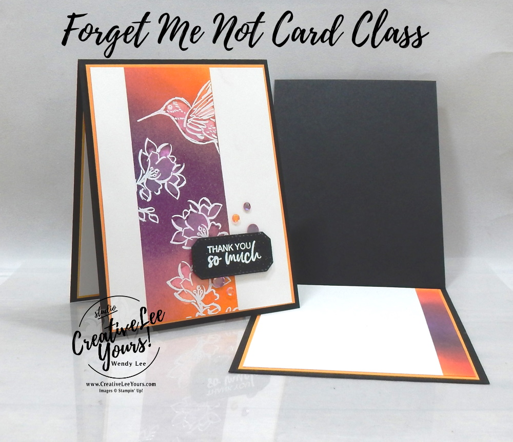 Blended Water Lifting by wendy lee, A Touch Of Ink stamp set, stampin up, stamping, SU, #creativeleeyours, creatively yours, creative-lee yours, #cardmaking, #handmadecard, #rubberstamps #stamping, friend, thinking of you, thank you, birthday, stamping, DIY, paper crafts, #papercrafting , #papercraftingsupplies, #papercraftingisfun , FMN, forget me not, ,#cardclub ,#cardclasses ,#onlinecardclasses , tutorial ,#tutorials ,#makeacardsendacard ,#makeacardchangealife, ,#SAB, #saleabration,#SAB, #saleabration, #technique ,#techniques, embossing, blending brushes
