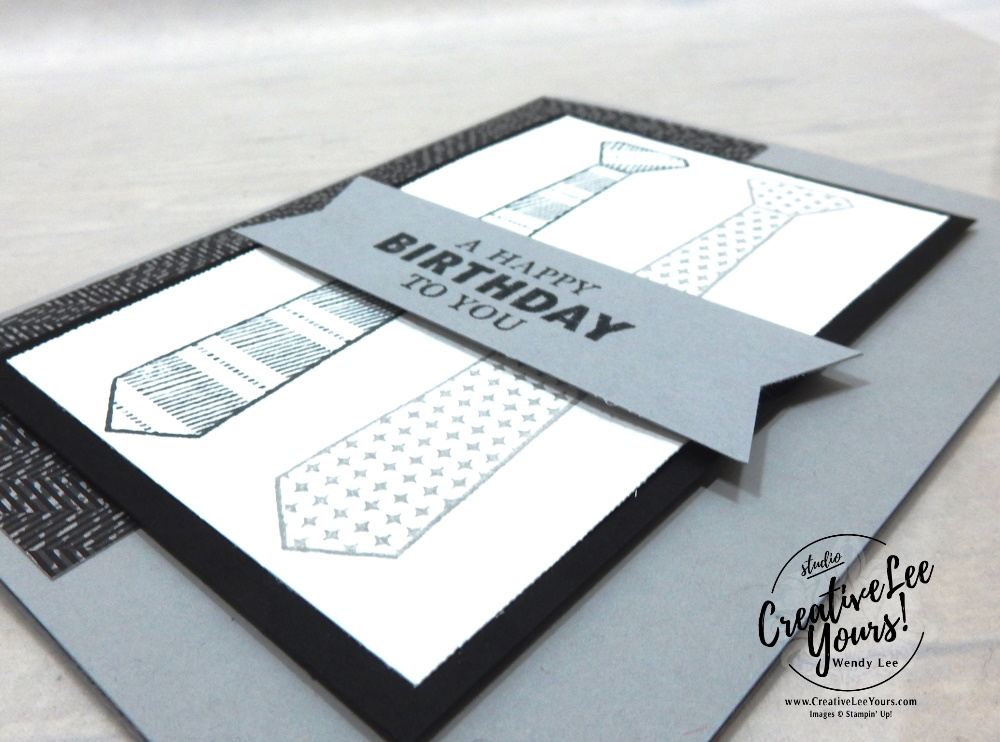 Simple Masculine Birthday by Wendy Lee, Handsomely Suited stamp set, stampin up, stamping, SU, #creativeleeyours, creatively yours, creative-lee yours, #cardmaking #handmadecard #rubberstamps #stamping, friend, celebration, congratulations, thank you, hello, birthday, warm wishes, Fathers Day, stamping, DIY, paper crafts, #papercrafting , #papercraftingsupplies, #papercraftingisfun , #makeacardsendacard ,#makeacardchangealife, #diemondsteam, #businessopportunity, #diemondsteammeeting, masculine,#wellsuited