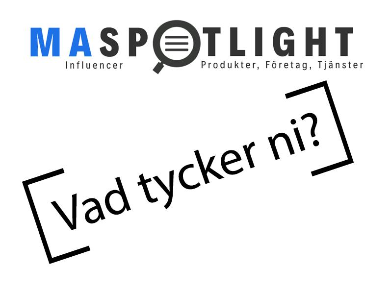 Hjälp till att forma MAspotlight