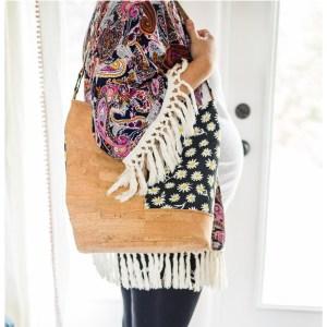 Bonnie Bucket bag pattern with fabric by Bonnie Christine