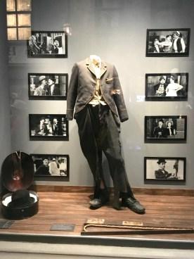 The original costume of Chaplin's iconic Little Tramp.