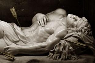 San Sebastiano detail