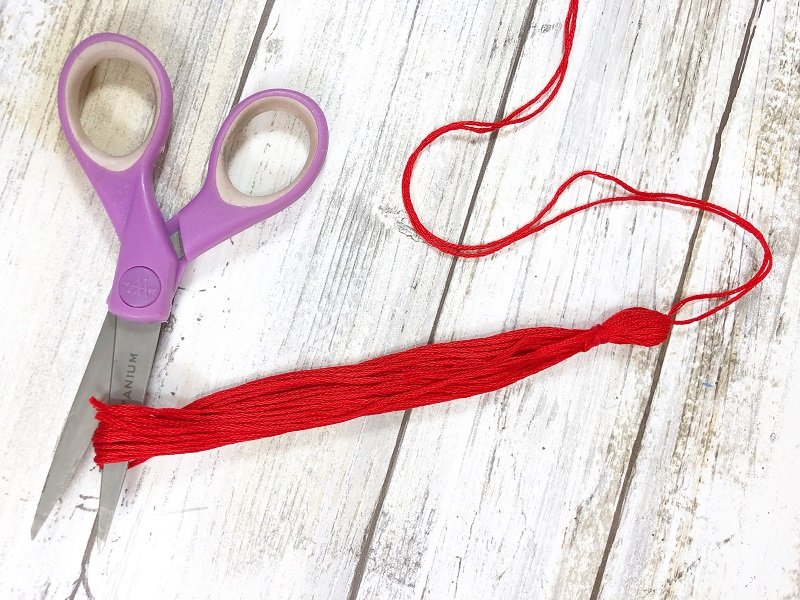 How to Make DIY Tassels from Embroidery Floss Creatively Beth