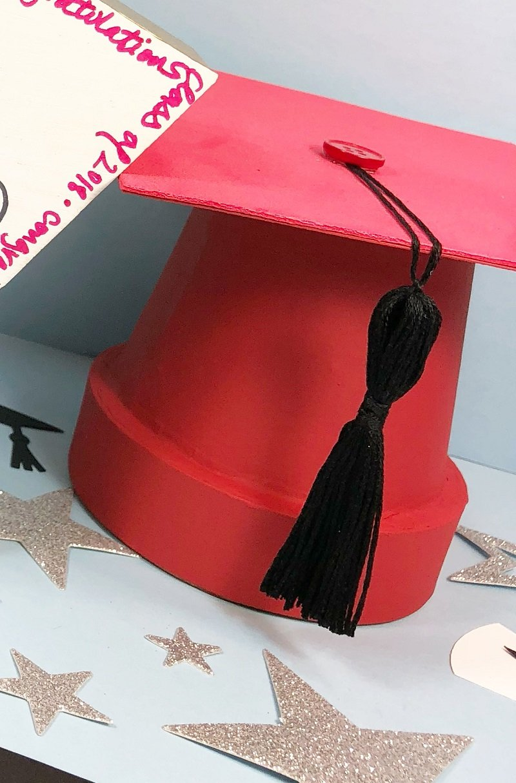 DIY Graduation Cap Party Decorations Creatively Beth