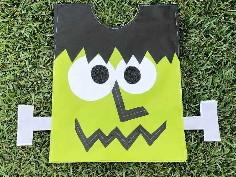 Creatively Beth finished Kids Frankenstein Costume