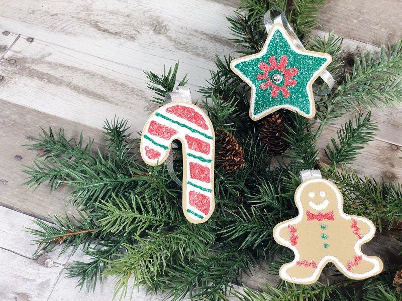 Dollar Tree Craft Foam Cookies #creativelybeth #dollartreecrafts #christmascookies #kidscrafts