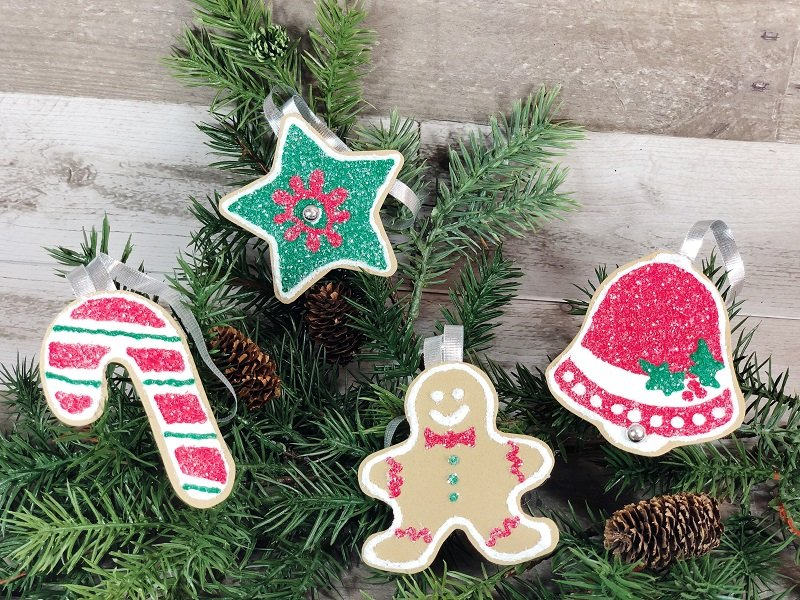 Dollar Tree Craft Foam Cookies #creativelybeth #dollartreecrafts #christmascookies #kidscrafts