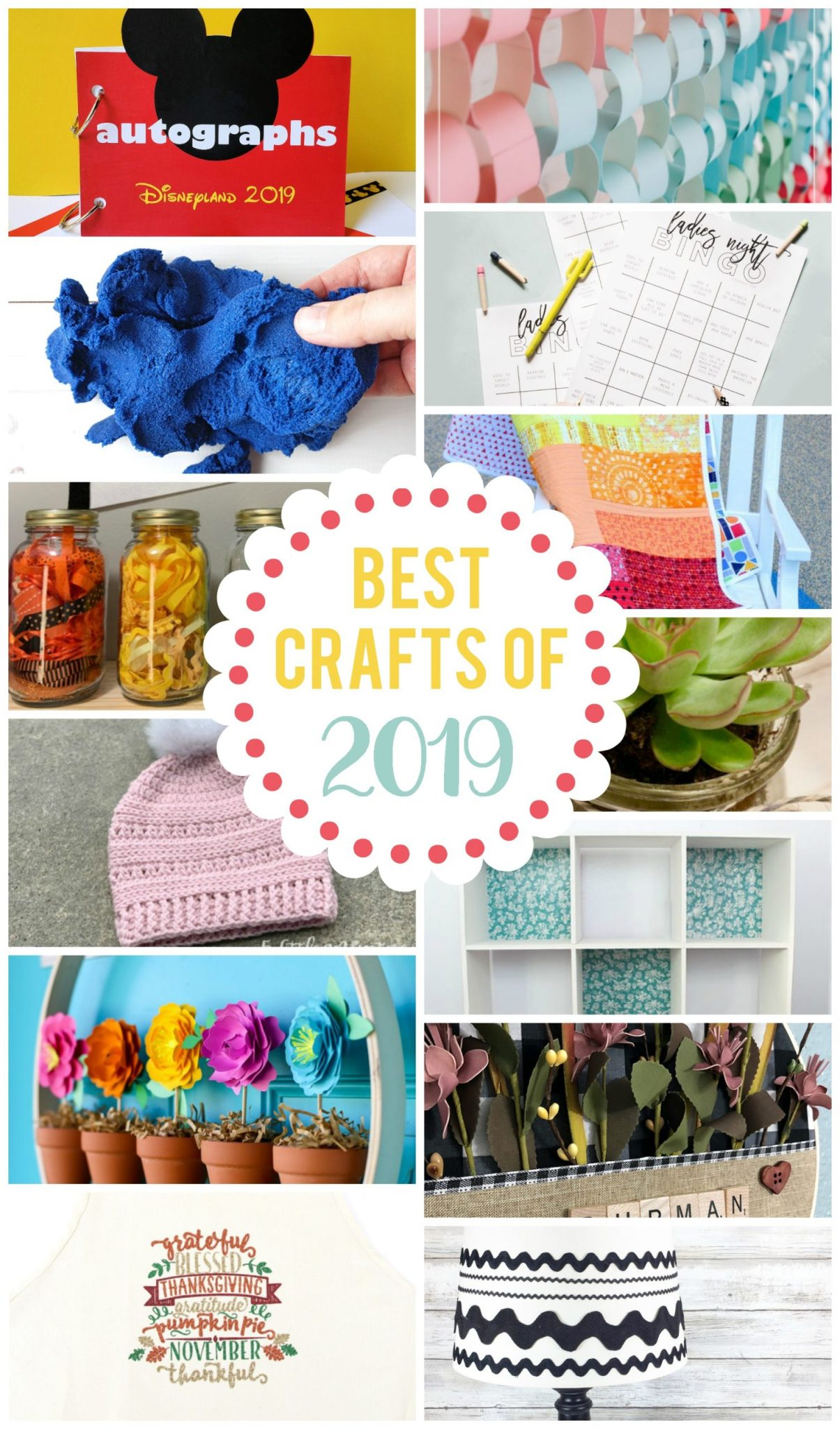 Cre4atively Beth Shares the Top 15 Crafts of 2019 #creativelybeth #topcrafts #2019 #bestcrafts
