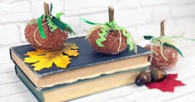 5 Minute Copper Scrubber Pumpkins Dollar Tree DIY Creatively Beth #creativelybeth #dollartreecrafts #pumpkincrafts #fallcrafts