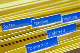 filing cabinet with files for the future