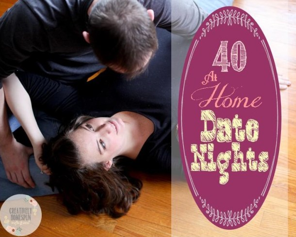 40 at home date nights