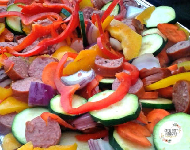 precooked veg