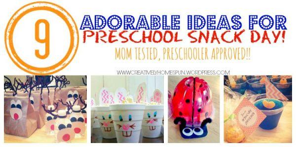title one preschool 9 ideas for preschool snack day 911