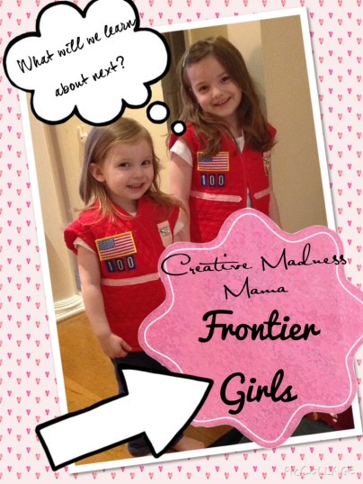 Creative Madness Mama Frontier Girls