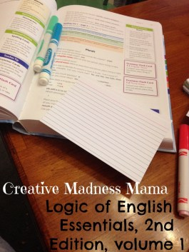Creative Madness Mama makes spelling flashcards color-coded to go with Logic of English Essentials 2nd Edition, Volume 1