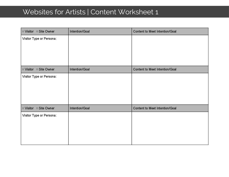Wfa Content Worksheet 1