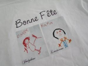 cadeau de Fête des Pères: tee-shirt zoom