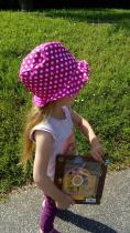 Tuto chapeau bob porté