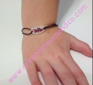 DIY: un bracelet Chica Vampiro modèle 1