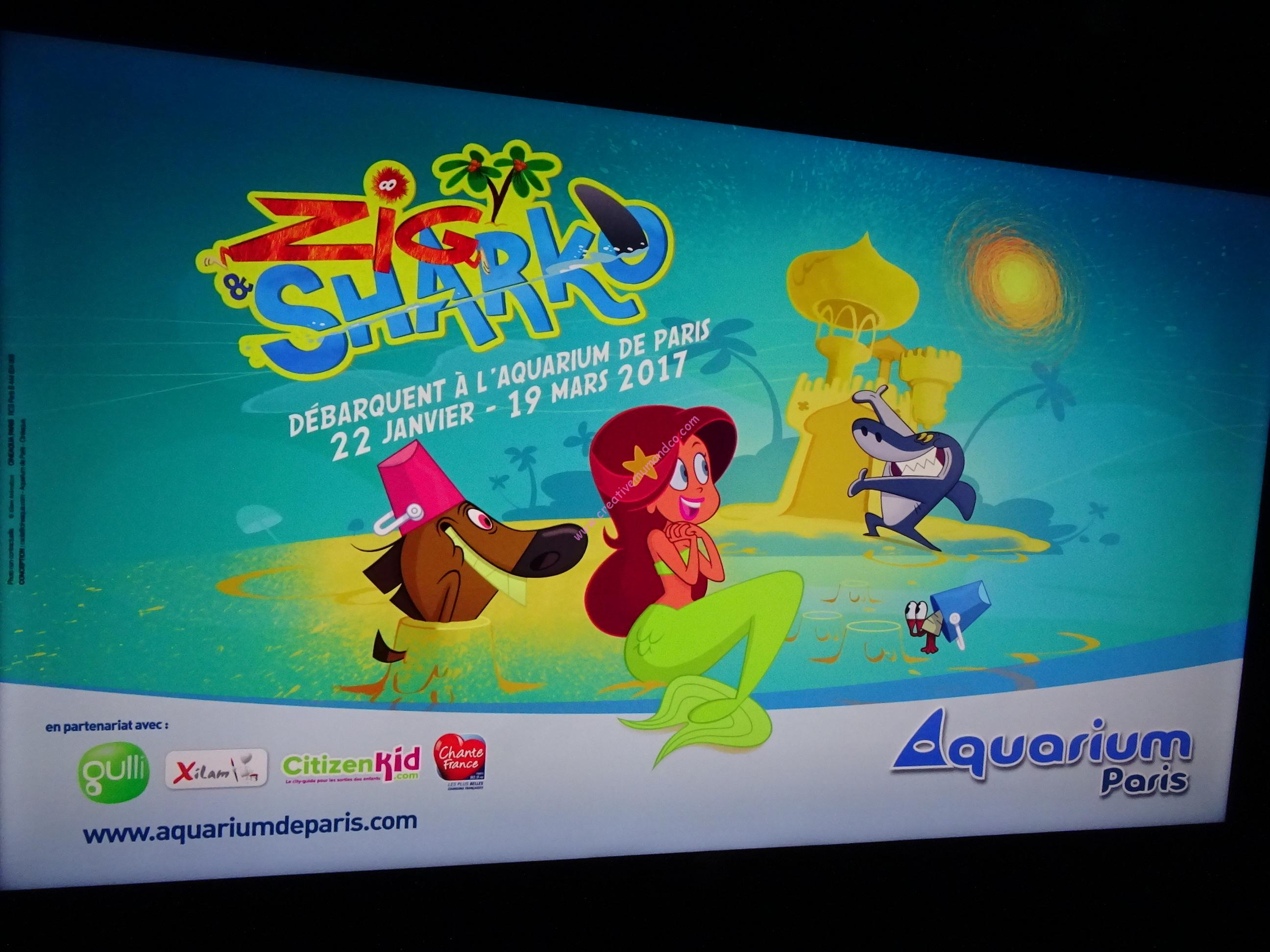 Coloriage De Zig Et Sharko Marina A Colorier