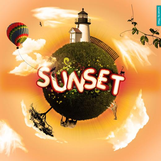 sunset-typography1