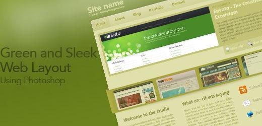 creating-a-sleek-photshop-weblayout