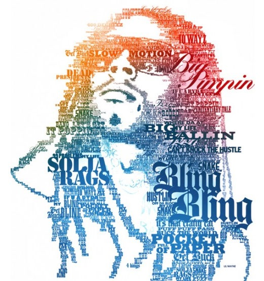 typographic-portraits-little-wayne