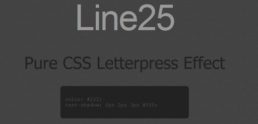 css-letter-pressed-effect