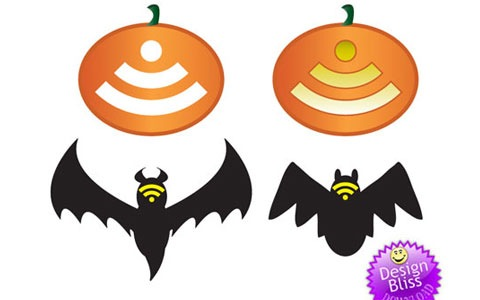 vector-rss-halloween-icons
