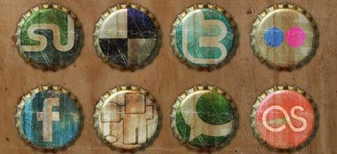 grunge-bottle-icons