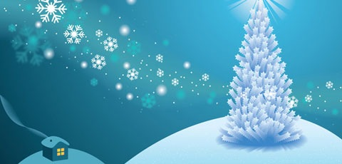 white-holiday-scene