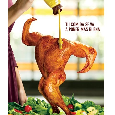 dancingchicken 100 Most Funny and Creative Advertisement Designs