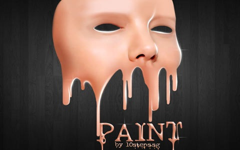 face-paint-dripping