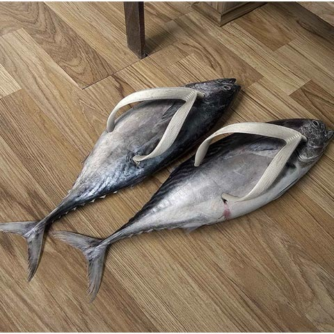 fishshoes 100 Most Funny and Creative Advertisement Designs